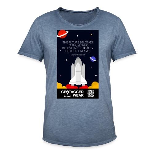 Rocket Science Men - Männer Vintage T-Shirt