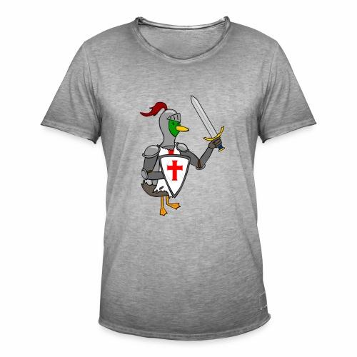 ducking crusade - Mannen Vintage T-shirt
