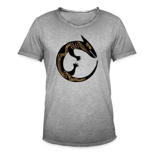 lizard - Maglietta vintage da uomo