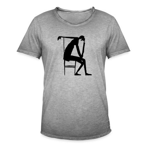 Franz Kafka - Der Denker - Männer Vintage T-Shirt