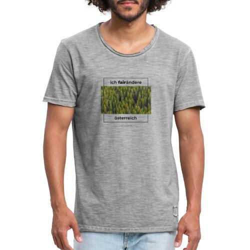 Ich FairÄndere Österreich - Wald - Männer Vintage T-Shirt