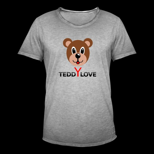 TEDDYLOVE COUTURE - Männer Vintage T-Shirt