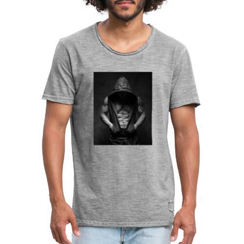 gimnasio - Camiseta vintage hombre