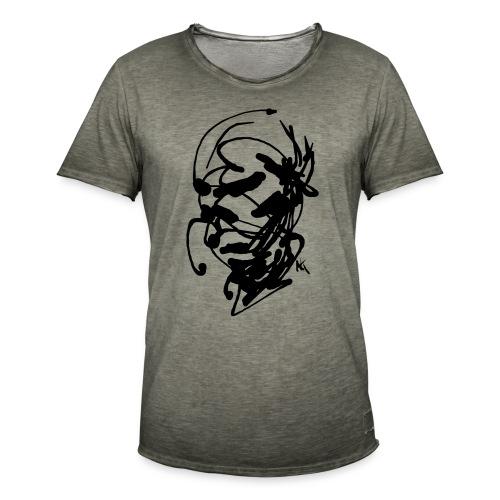 face - Men's Vintage T-Shirt