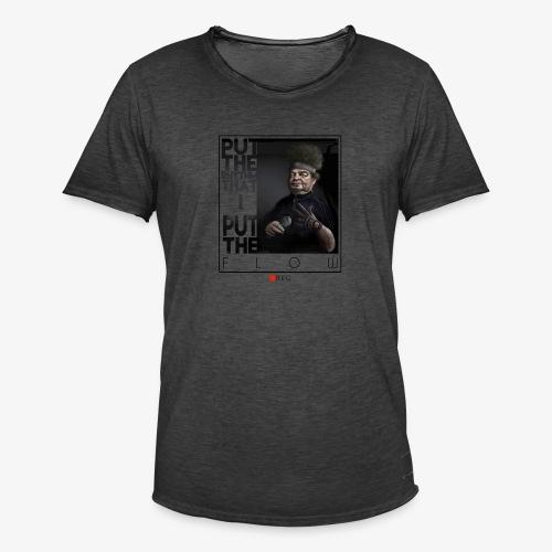 bboy forever - Camiseta vintage hombre