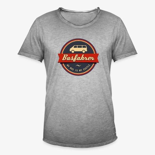Busfahrer Retro - Männer Vintage T-Shirt