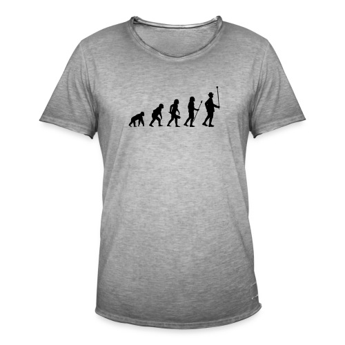 Stabführer Evolution - Männer Vintage T-Shirt
