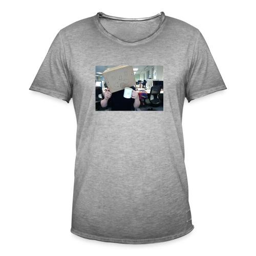 Box Head Mugins - Men's Vintage T-Shirt