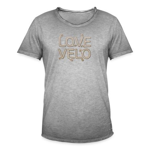 LOVEVELO - T-shirt vintage Homme