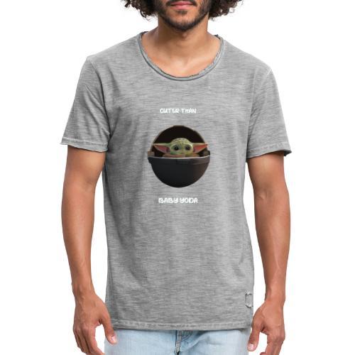 CUTER THAN BABY Y - Camiseta vintage hombre