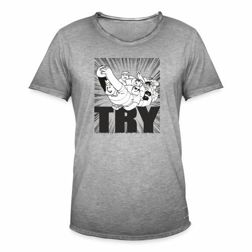 try MarPlo - Maglietta vintage da uomo