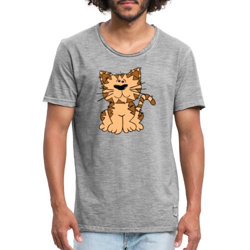 cat 46676 - Camiseta vintage hombre