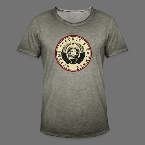 Cosmonaut 4c - Men's Vintage T-Shirt