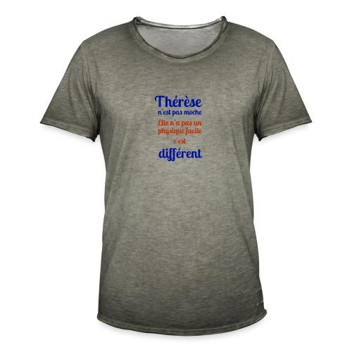 Thérèse - T-shirt vintage Homme