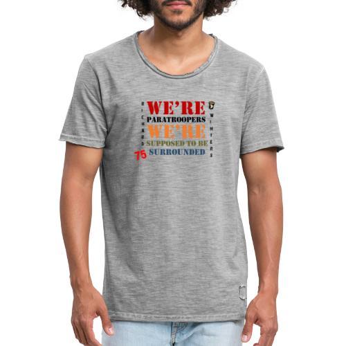 Censé être entouré - T-shirt vintage Homme