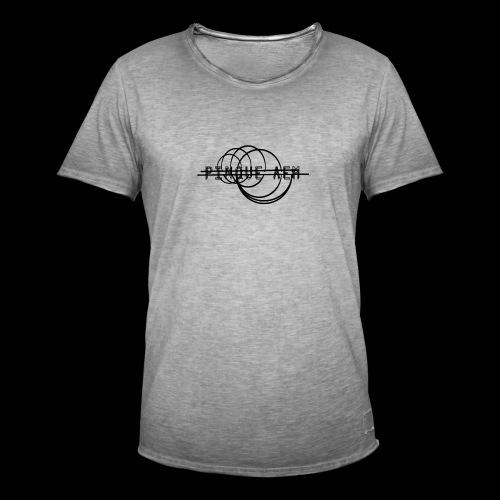Pinque AEM NERO - Maglietta vintage da uomo
