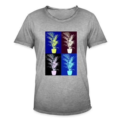 POP ART house tree - Men's Vintage T-Shirt
