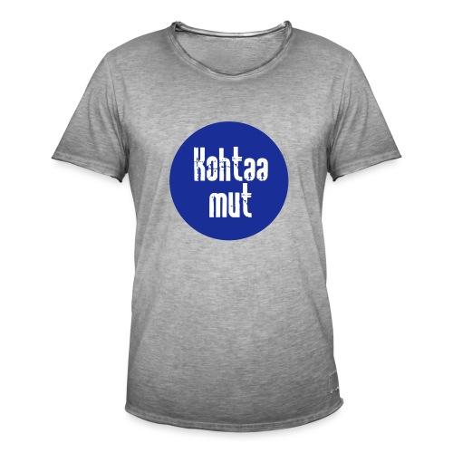 Kohtaa mut - Miesten vintage t-paita