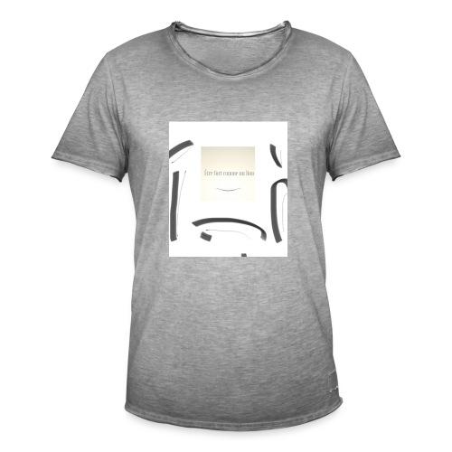 Sei stark wie ein Löwe - Männer Vintage T-Shirt