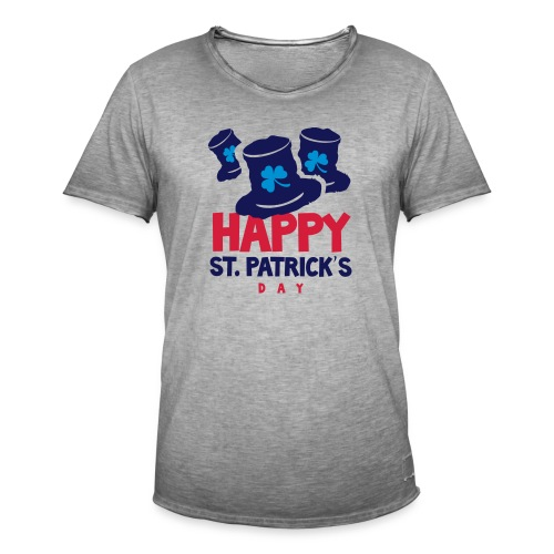 Happy St. Patrick's Bay - Men's Vintage T-Shirt