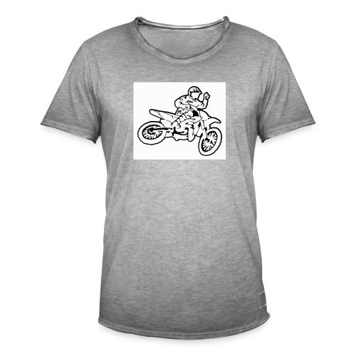 moto l k - T-shirt vintage Homme