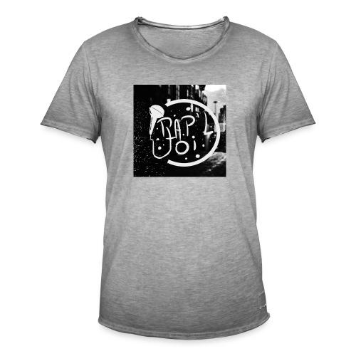 T-SHIRT LOGO CHAINE - T-shirt vintage Homme