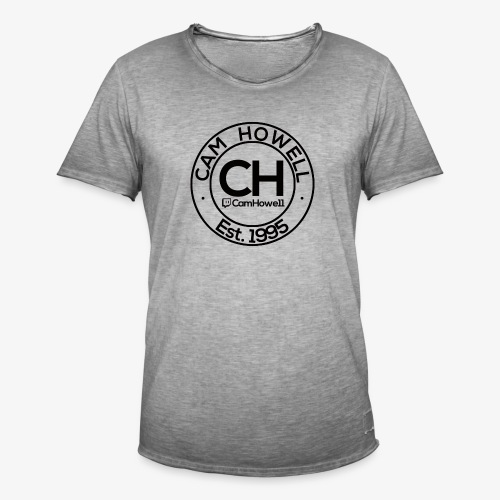 CH Twitch Logo. - Men's Vintage T-Shirt