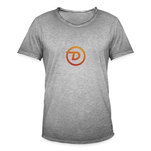 Demo Esport Logo - Vintage-T-skjorte for menn