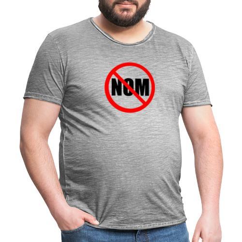Anti Nuevo Orden Mundial - Camiseta vintage hombre