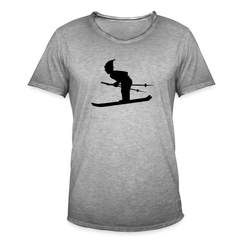Skiing Live your Dream - Männer Vintage T-Shirt