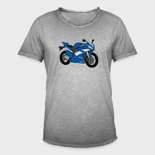 R6NICK Bike - Men's Vintage T-Shirt