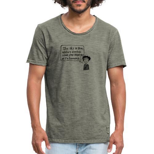Humming - Männer Vintage T-Shirt