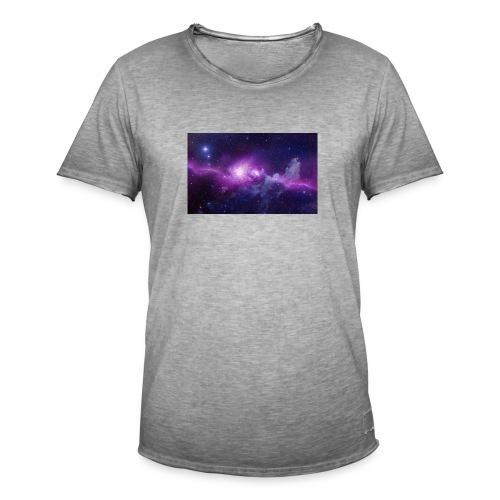 tshirt galaxy - T-shirt vintage Homme