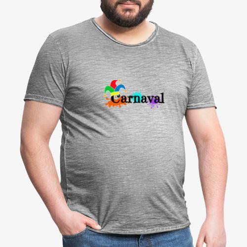 Carnaval - Camiseta vintage hombre