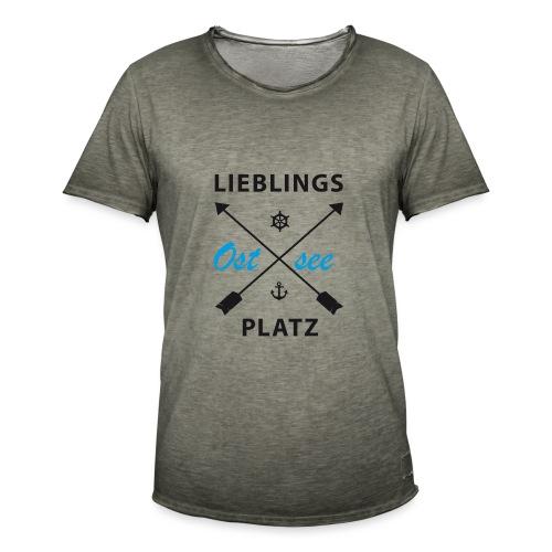 Lieblingsplatz Ostsee - Männer Vintage T-Shirt