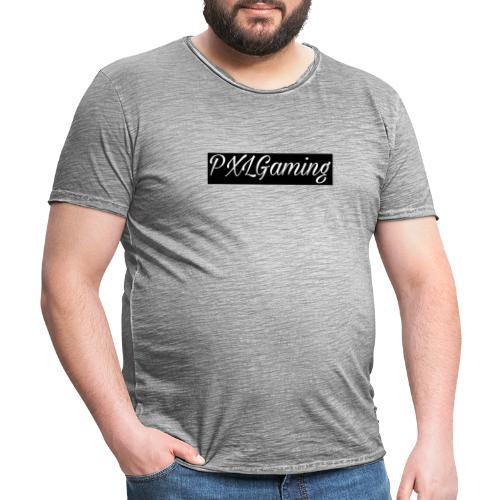 Einfaches Logo - Männer Vintage T-Shirt