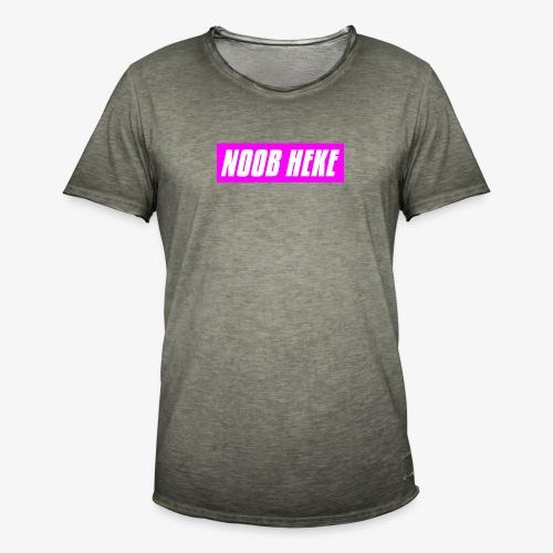 NOOB HEKE - Miesten vintage t-paita