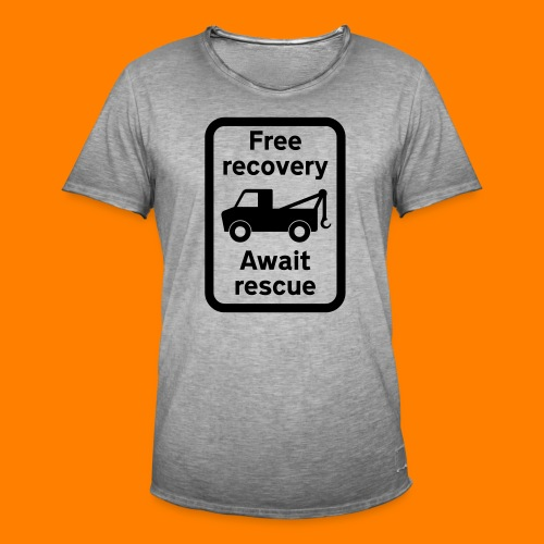 free recovery - Men's Vintage T-Shirt