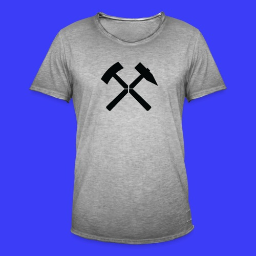 Pałki żelazne - Koszulka męska vintage