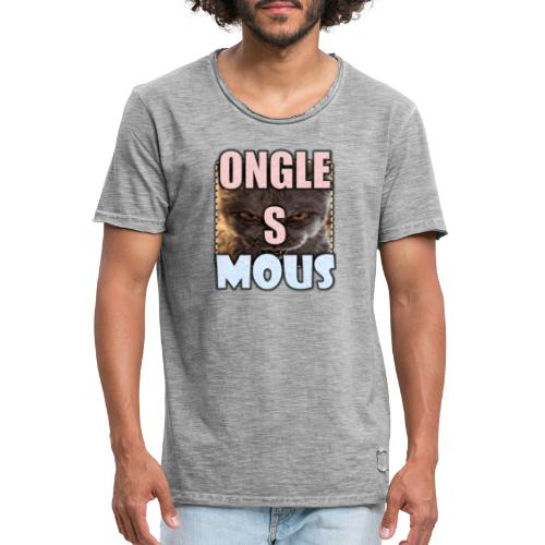ONGLES MOUS - T-shirt vintage Homme