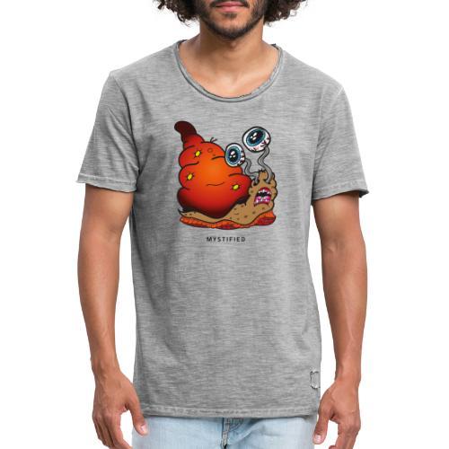 Mystified Crazy Snail - Mannen Vintage T-shirt