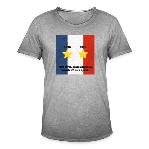 Collector 2éme coupe du monde 20 ans après - T-shirt vintage Homme