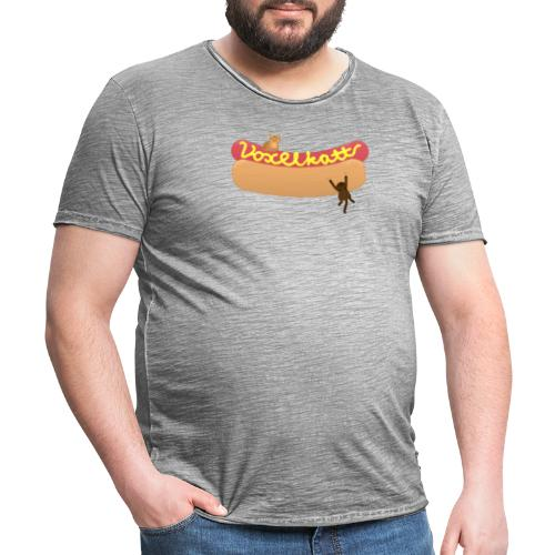 Voxelkorv - Vintage-T-shirt herr