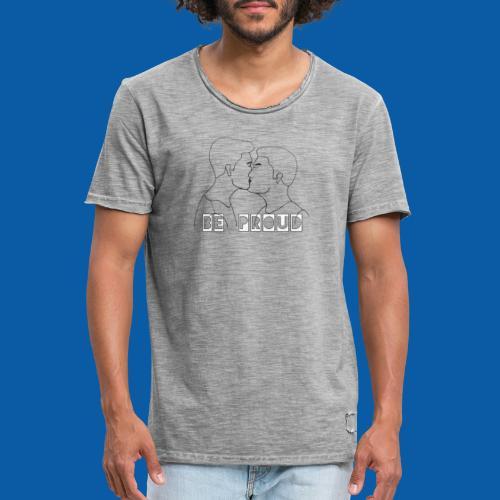 Gay Male Edition - Männer Vintage T-Shirt