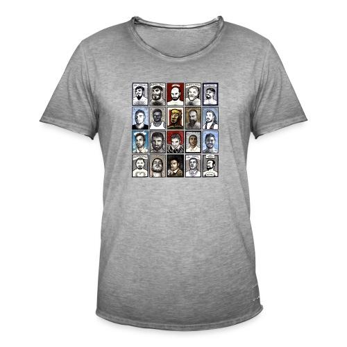 ACEO - Maglietta vintage da uomo