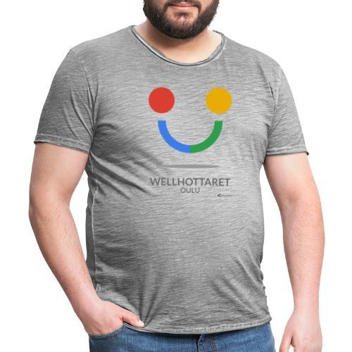WELLHOTTARET - Men's Vintage T-Shirt