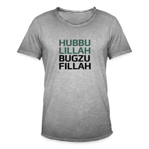 HUBBU - Herre vintage T-shirt