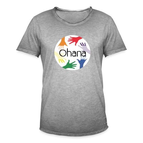 Ohana heißt Familie - Männer Vintage T-Shirt