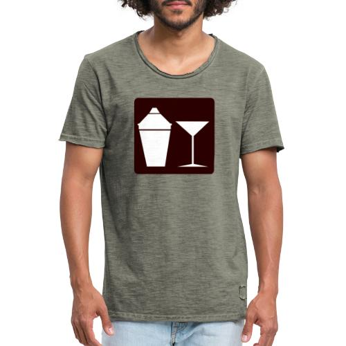 Alkohol - Männer Vintage T-Shirt