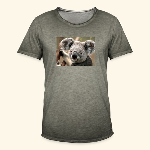 Koala - Männer Vintage T-Shirt